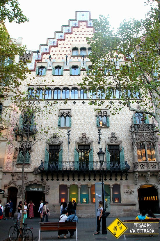 Casa Amatller Barcelona Espanha