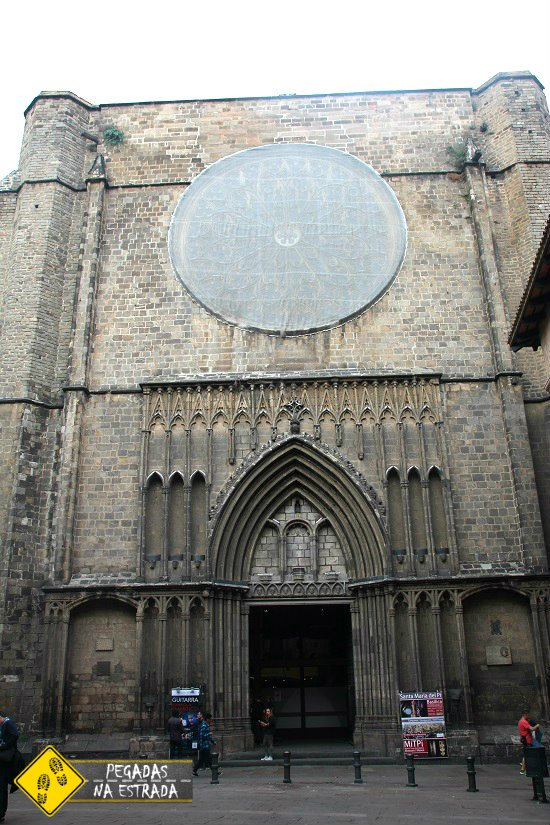 Igreja de Santa Maria del Pi Barcelona