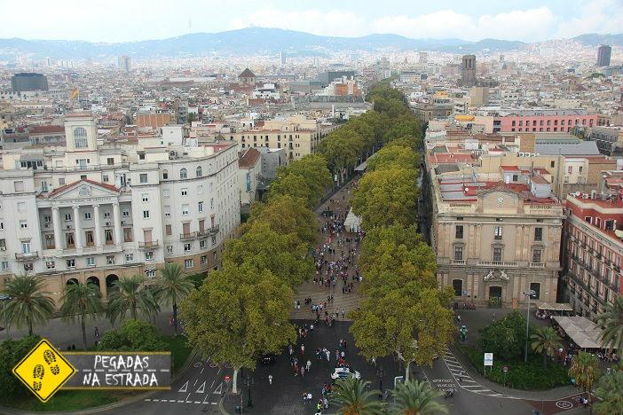 Las Ramblas pontos de interesse Barcelona