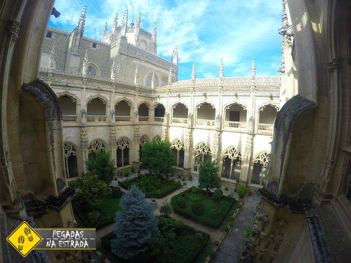Igreja do Monastério de San Juan de los Reyes toledo Espanha