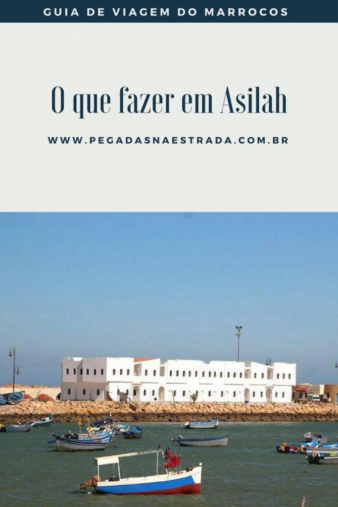 Conheça o Marrocos em um roteiro incrível de 12 dias. No primeiro dia, você verá as casas branquinhas e as ruas labirínticas cheias de arte de Asilah.