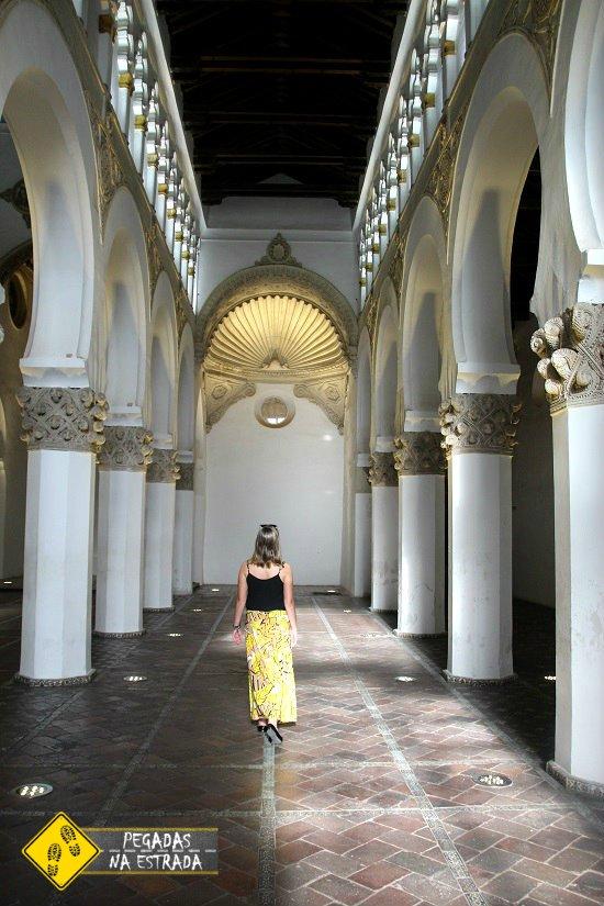 arquitetura Mudéjar Toledo sinagoga