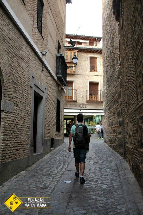 roteiro a pé Toledo Espanha
