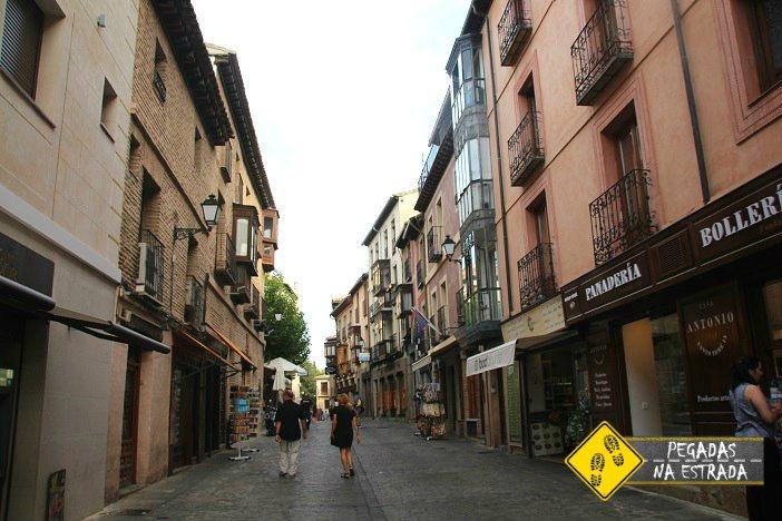 Bairro antigo Toledo Espanha