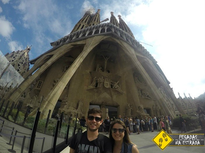 Igreja Sagrada Família Barcelona