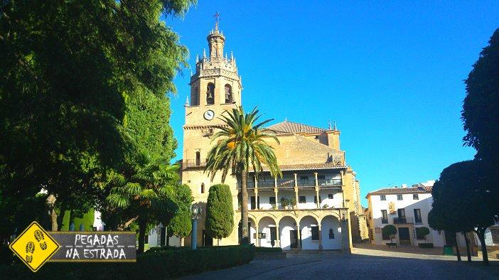 Iglesia Santa María La Mayor centro histórico Ronda