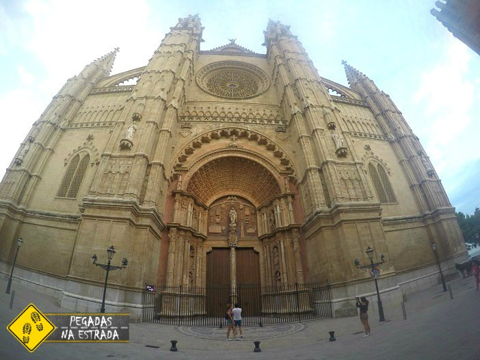 Catedral La Seu Palma de Mallorca Ilhas Baleares