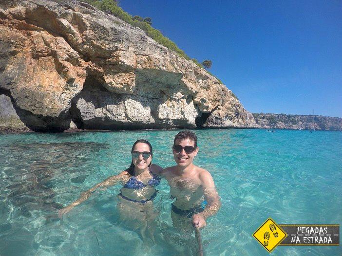 praia paradisíaca Ilhas Baleares Mallorca Espanha