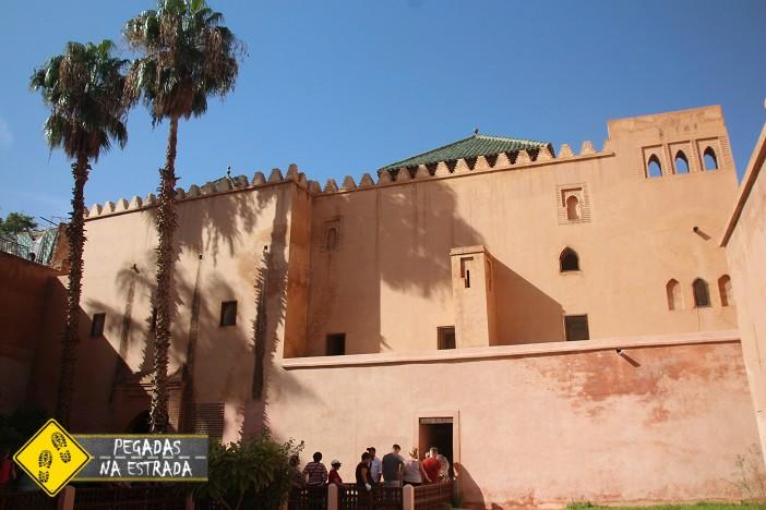 Túmulos Saadianos Marrakech Marrocos