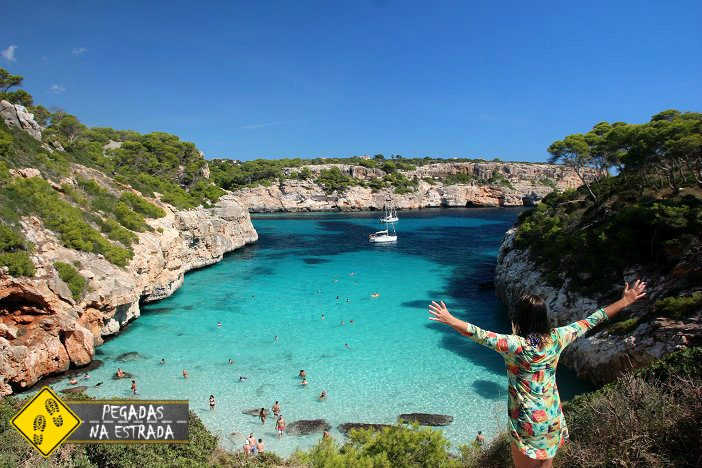 Caló des Moro Mallorca Ilhas Baleares Espanha