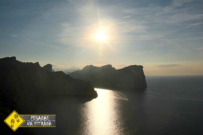 Pôr do sol Cabo Formentor Mallorca
