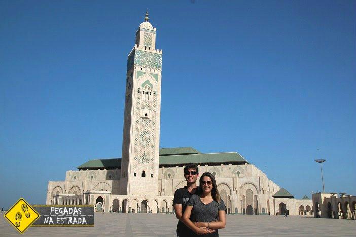 Pontos do interesse Casablanca Marrocos