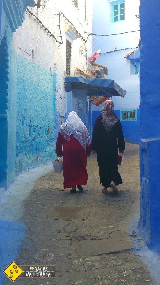 Cidade azul Marrocos roteiro