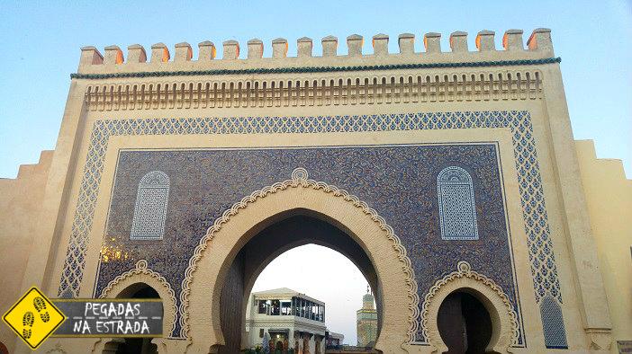 Bab Boujloud Fez cidade imperial Marrocos