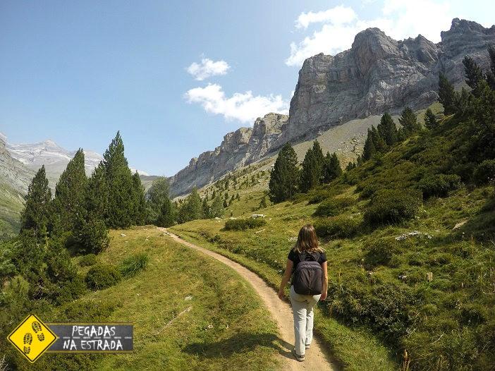 Trilha Senda de los Cazadores, Parque Nacional de Ordesa e Monte Perdido