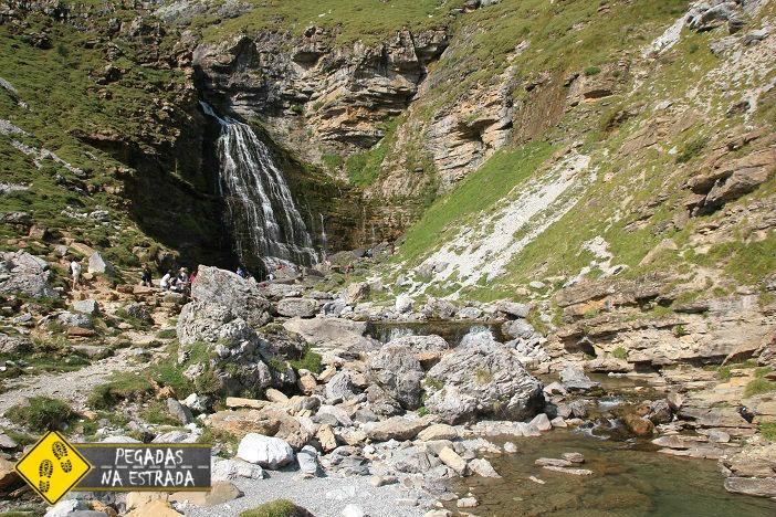 Cachoeira La Cola de Caballo Parque Nacional de Ordesa e Monte Perdido