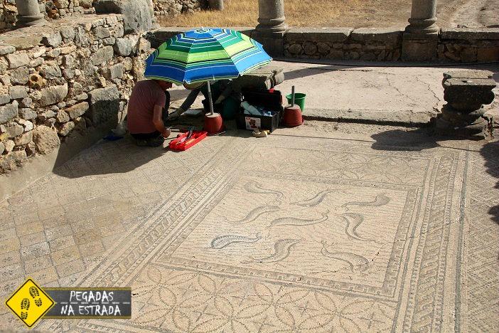 ruínas romanas na África