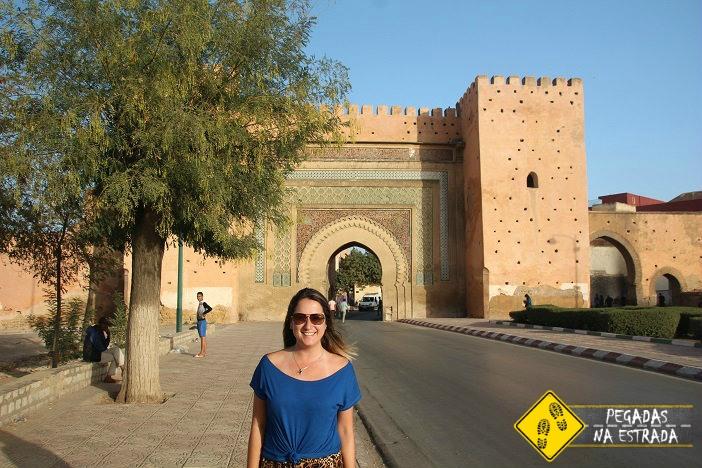 Porta Bab El-Khemis, Meknes