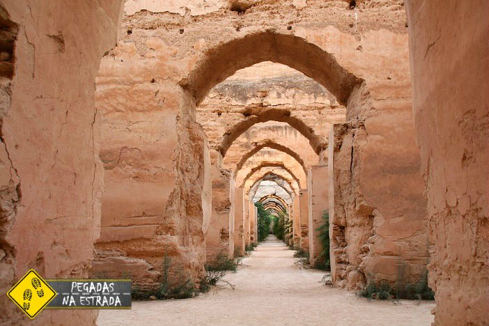 Estábulo Real em Meknes