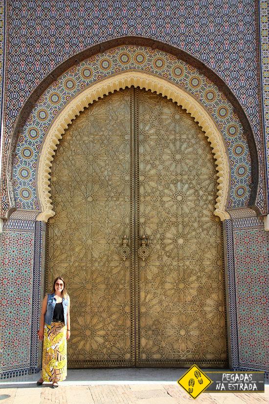 Palácio Real de Fez turismo atrações Marrocos