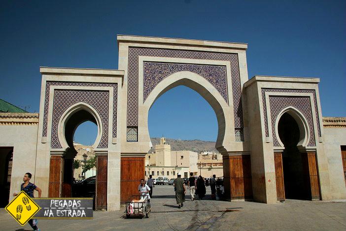 pontos de interesse Fez Marrocos Bab Rcif Bab sid Lajoud
