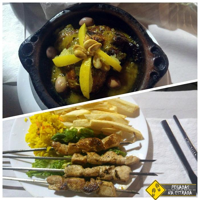 Tagine de Frango com limão comida marroquina