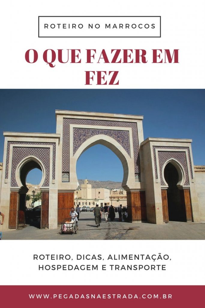Conheça Fez, uma cidade construída no século VIII, considerada um dos destinos mais autênticos do Marrocos. Neste post você irá encontrar um roteiro de 1 dia em Fez, onde se hospedar, dicas de agências no Marrocos e tudo o que você precisa para preparar a sua viagem por esse incrível país africano.