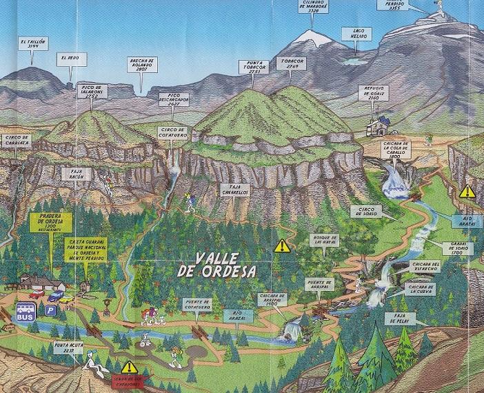 Trilhas na Espanha parque nacional Pirineus