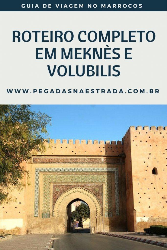 Conheça Meknes, uma encantadora cidade imperial marroquina, e Volubilis, famosa pelas incríveis ruínas romanas do século III a.c.. Confirma o roteiro completo de 12 dias pelo Marrocos, além de dicas de hospedagem, direção, gastronomia, vestimenta, religião, pontos altos, cultura, agências de viagem e segurança.