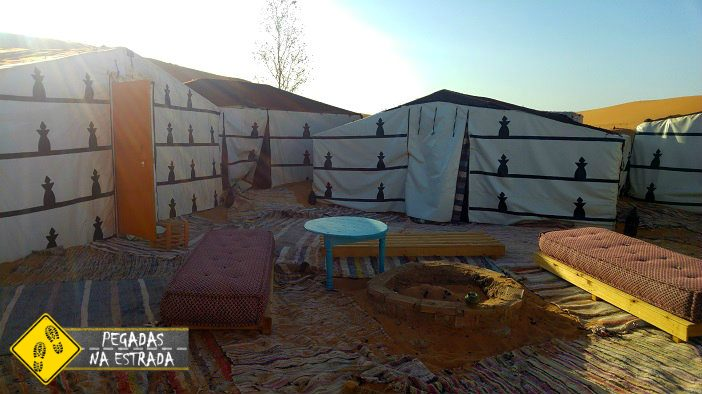 Acampamento de luxo em Erg Chebbi