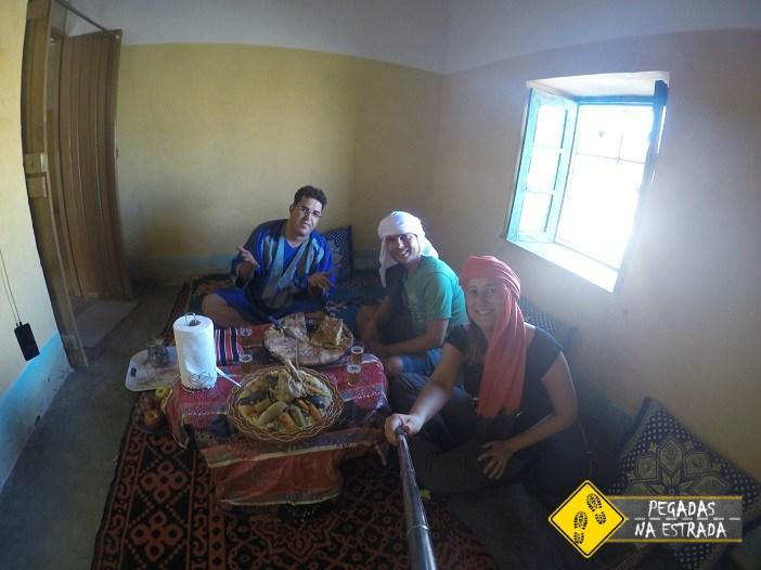 almoço marroquino Merzouga o que fazer no Marrocos