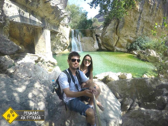 Verão Espanha Cânion do Rio Vero
