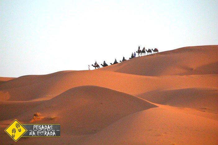 roteiro deserto do Saara Marrocos