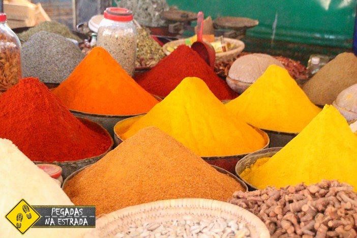 Mercados souk Marrocos