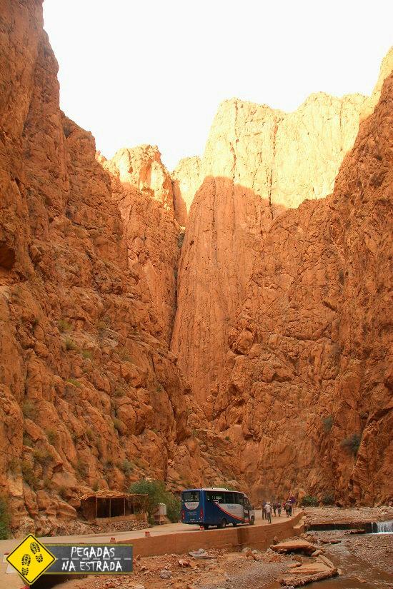 Garganta de Todra paisagens Marrocos natureza