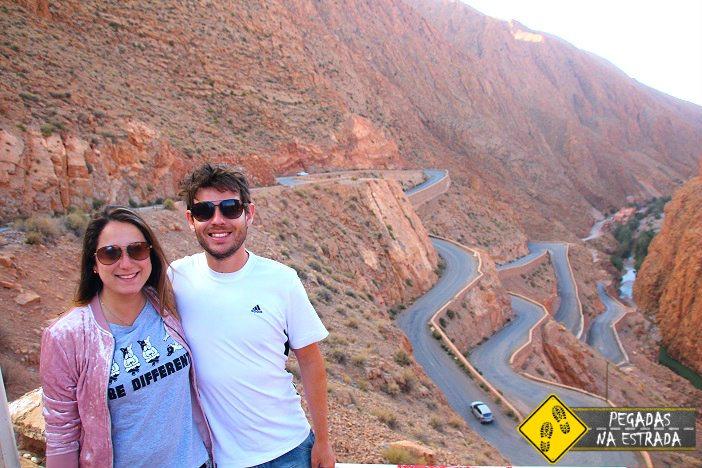 Aventura na Garganta de Dades, Marrocos viagem