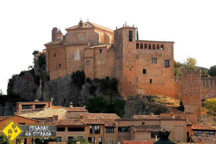 Castillo Y Colegiata Santa Maria la Mayor Alquézar Espanha