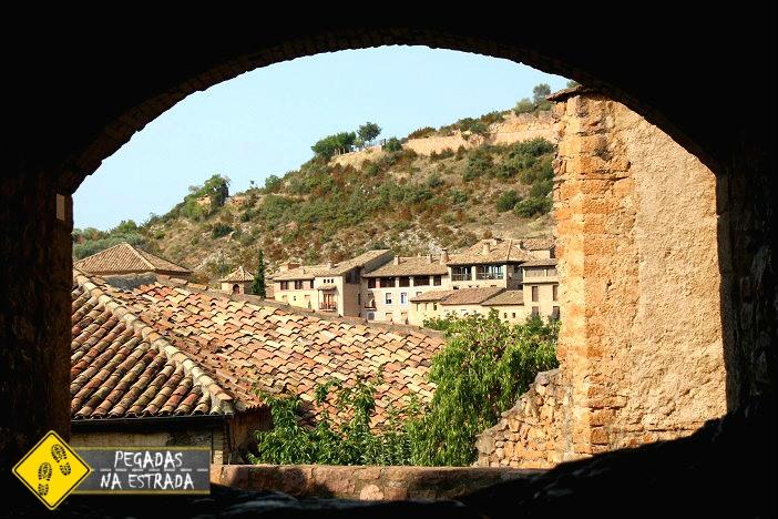 Molino Aceite Antiguo Alquézar Espanha cidades medievais