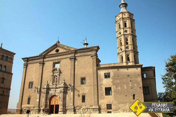 Igreja de San Juan de los Panetes Zaragoza Espanha