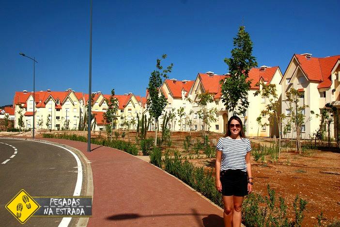 Arquitetura europeia de Ifrane, Marrocos