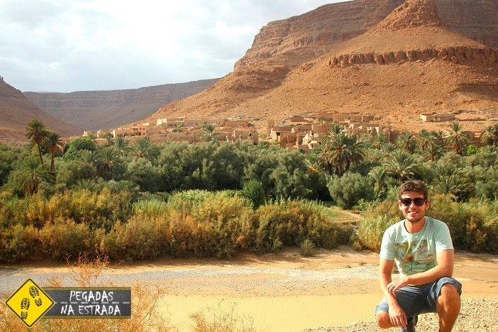 Casbás Marrocos deserto