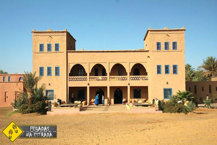 onde se hospedar no deserto do Saara Merzouga