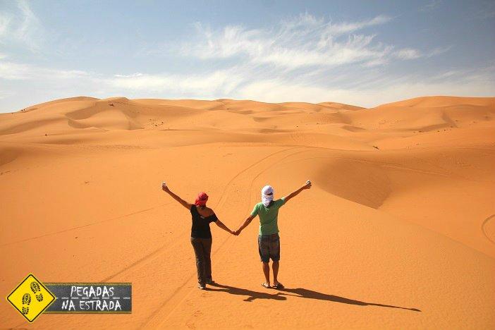 roteiro Marrocos deserto