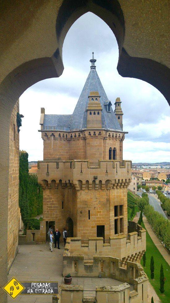 Castelo de Olite viagem de carro pela Espanha