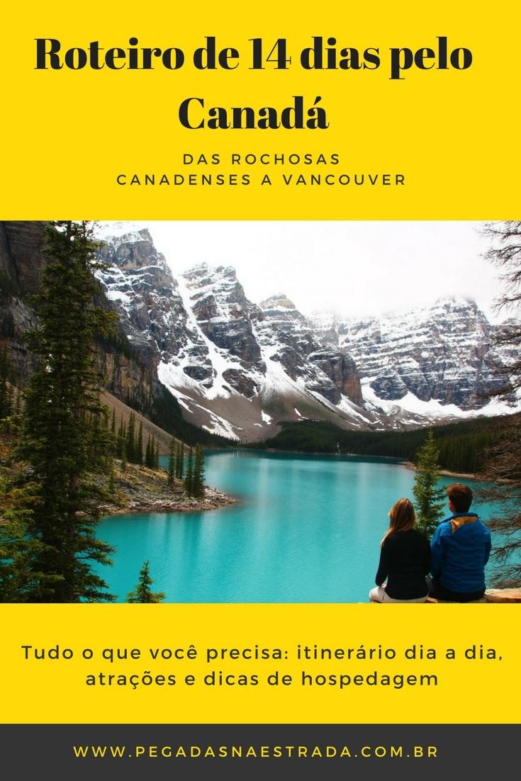 Nesse roteiro de 14 dias no Canadá, que vai das montanhas rochosas até Vancouver, você encontrará as melhores atrações para visitar dia a dia, dicas de hospedagem no caminho, os pontos altos da viagem que você não deve perder e muito mais. A partir deste post, você terá acesso a outros posts, com informações detalhadas