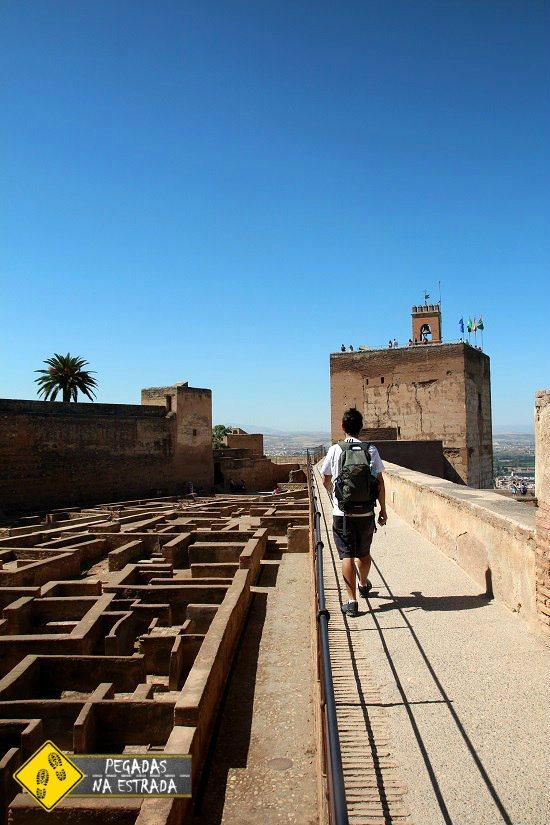 O que fazer em Granada Espanha Alcazaba