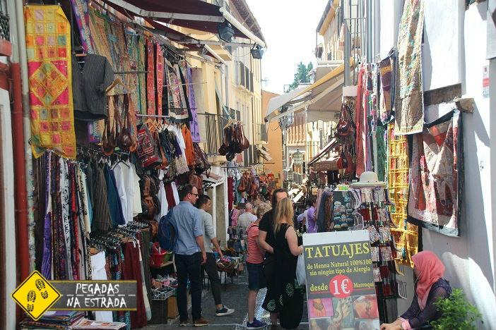 Calle Caldería Nueva Granada