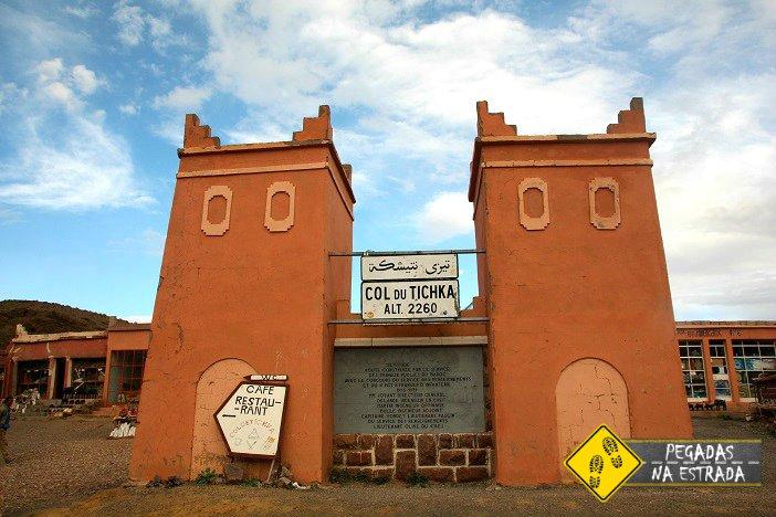 Tizi n'Tichka estrada cênica Marrocos