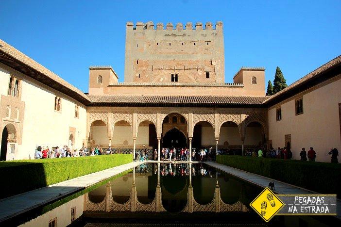 Palácio de Comares Alhambra Granada