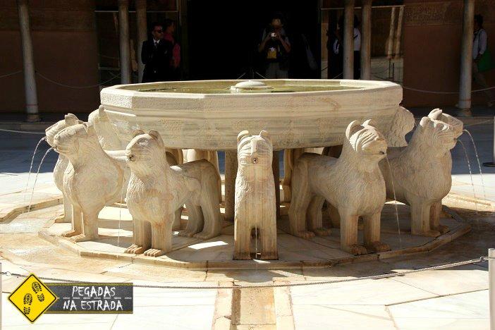 Palácio dos Leões, PaláciosNazaríes Granada